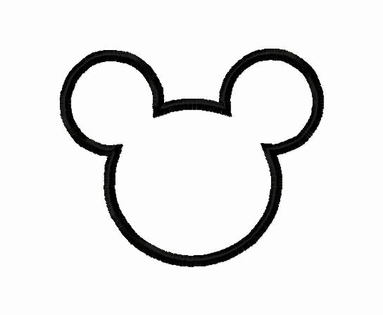 Mickey Mouse Outline Printable Inspirational Free Mickey Mouse Ears Outline Download Free Clip Art