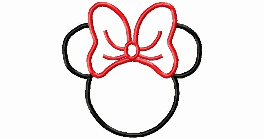 Mickey Mouse Outline Printable Luxury Free Mickey Mouse Face Template Download Free Clip Art