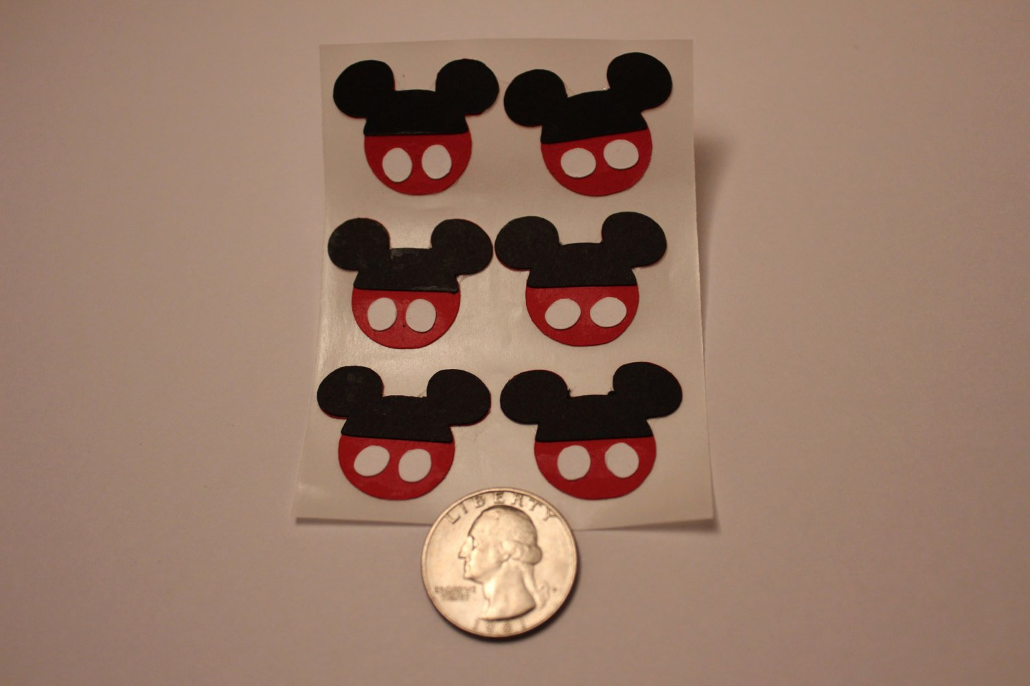 Mickey Mouse Pants Template Best Of 6 Mickey Mouse Head with Pants Cut Out Stickers 1 Inch