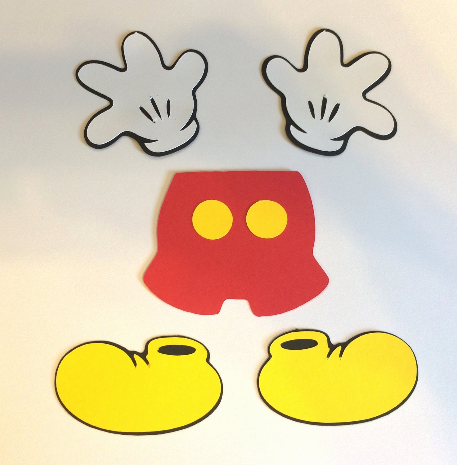 Mickey Mouse Pants Template Luxury Free Mickey Mouse Cut Out Download Free Clip Art Free