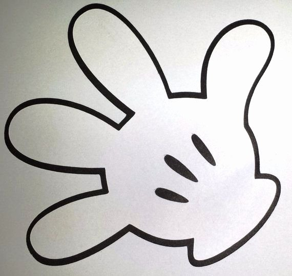 Mickey Mouse Printable Cutouts Beautiful 1000 Ideas About Mickey Mouse Head On Pinterest