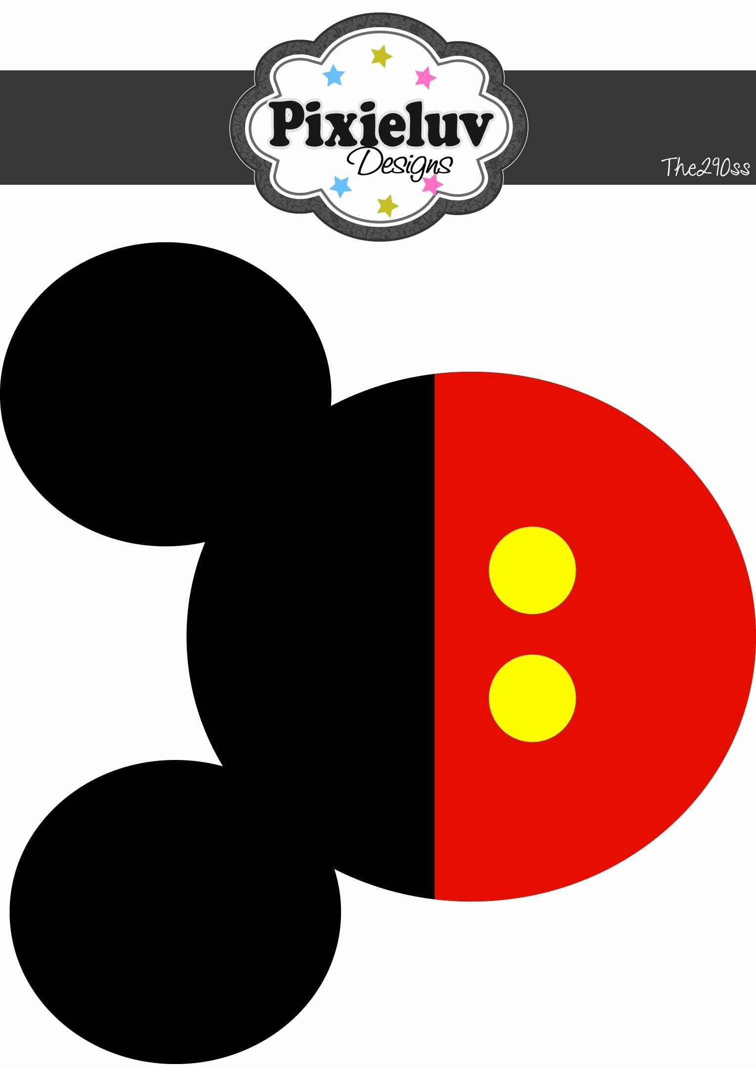 Mickey Mouse Printable Cutouts Best Of Image Result for Mickey Mouse Printable Template