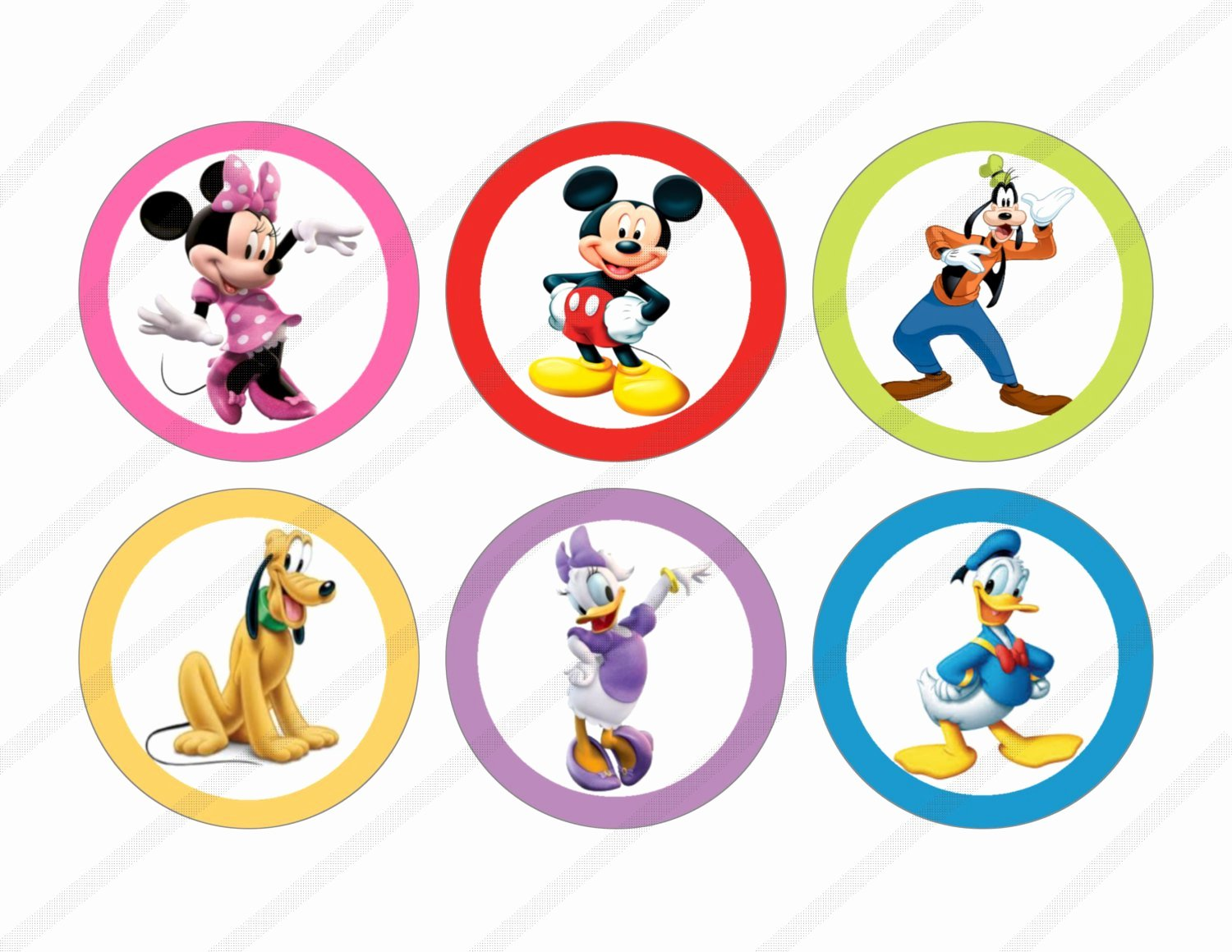 Mickey Mouse Printable Cutouts Inspirational Mickey Mouse Clubhouse Printables