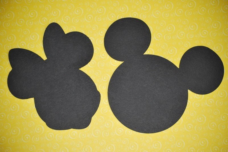 Mickey Mouse Silhouette Printable Beautiful Free Mickey and Minnie Mouse Silhouette Download Free