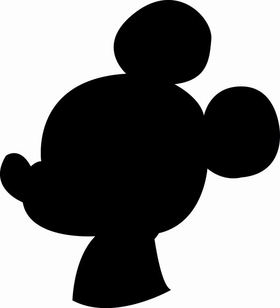 Mickey Mouse Silhouette Printable Best Of Make Any Diy Craft You Want with A Able Printable