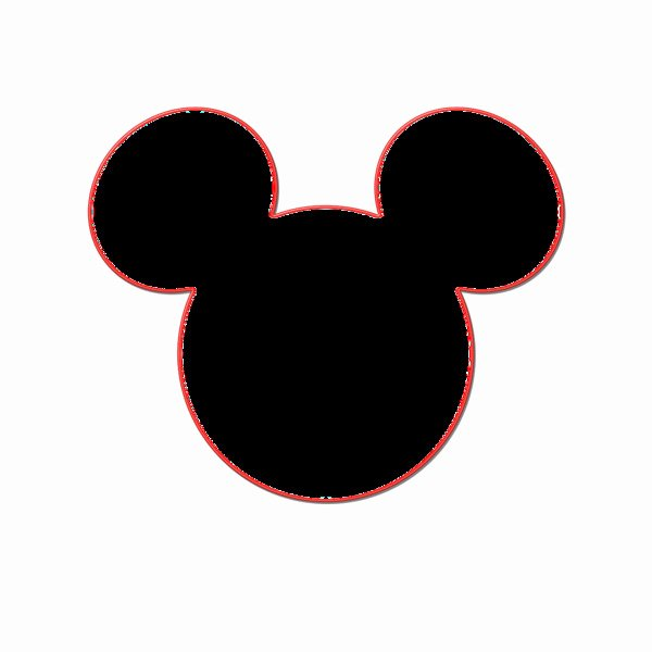 Mickey Mouse Silhouette Printable Best Of Minnie Mouse Silhouette Printable at Getdrawings