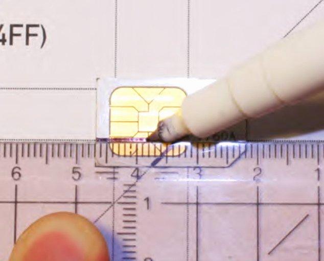 Micro Sim to Nano Sim Template New How to Transform Mini Micro Sim Card Into Nano Sim iPhone 5
