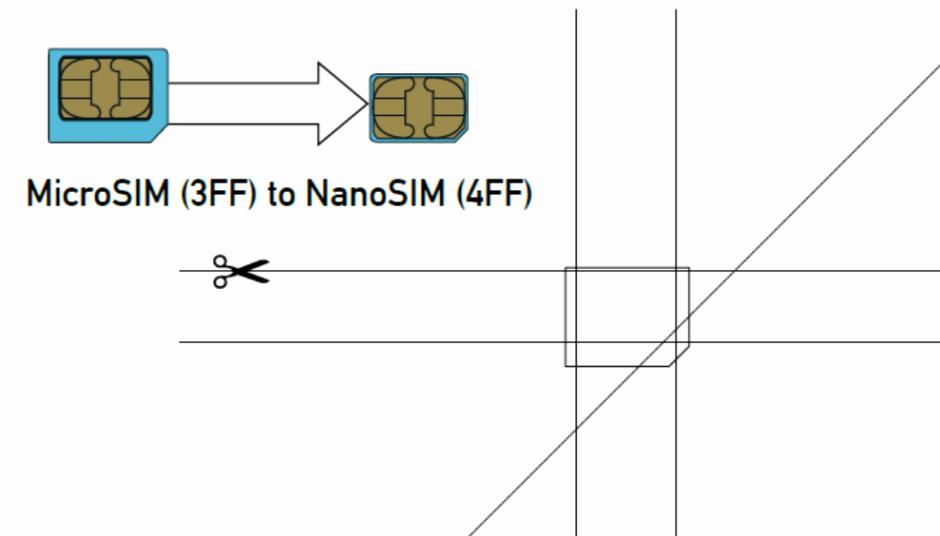 Micro Sim to Nano Sim Template New Micro Sim Card to Nano Sim Card 1253 Techotv