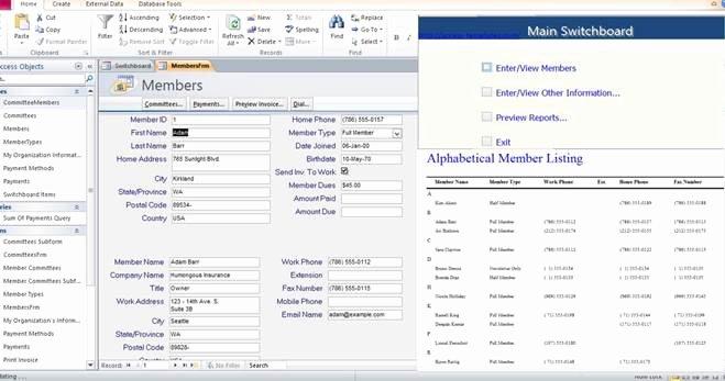 Microsoft Access Templates Inspirational Access Templates Page 2 In Microsoft Access Templates and