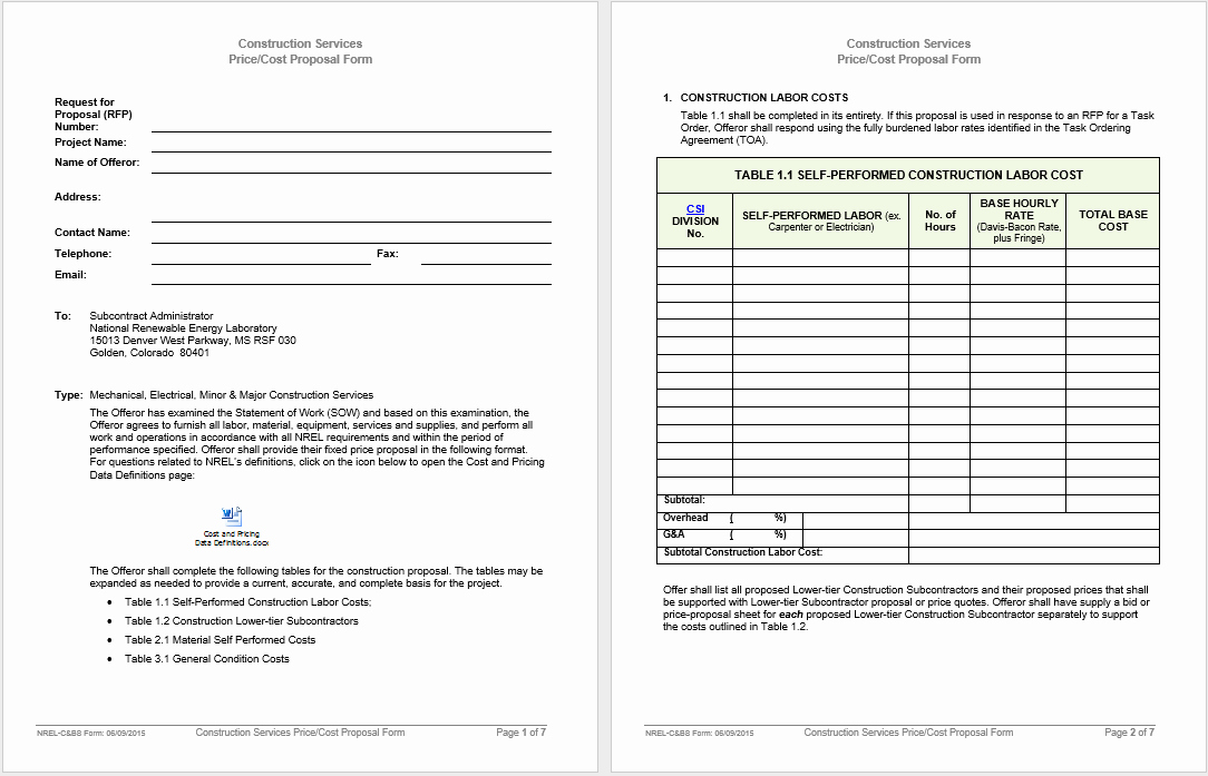 Microsoft Office Proposal Template Lovely 42 Free Proposal Templates Microsoft Fice Templates