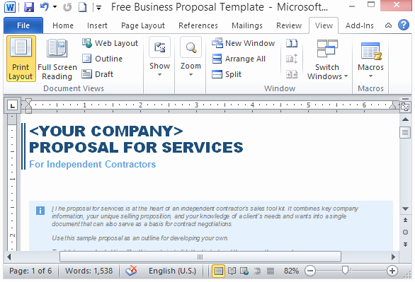 Microsoft Office Proposal Template Luxury Proposal Templates Archives