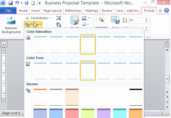 Microsoft Office Proposal Template New Modern Ui Business Proposal Template for Word