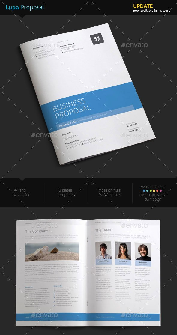 Microsoft Office Proposal Template Unique How to Customize A Simple Business Proposal Template In Ms