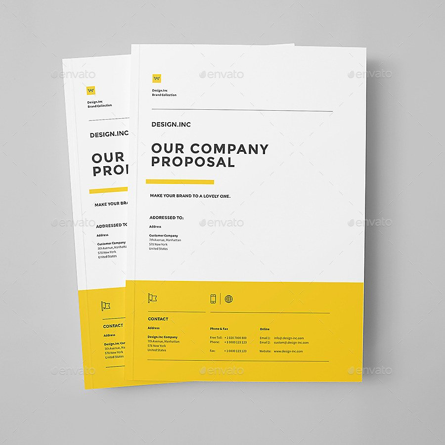 Microsoft Proposal Template Fresh 48 Best Business Proposal Templates In Indesign Psd & Ms