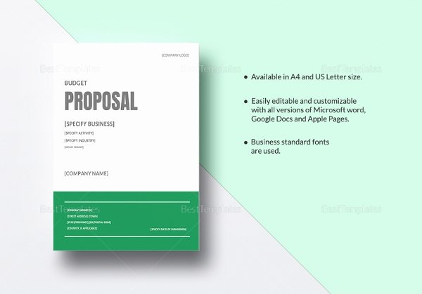 Microsoft Proposal Template Inspirational 28 Free Proposal Templates Microsoft Word format Download