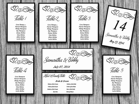 Microsoft Seating Chart Template Best Of Wedding Seating Chart Template Microsoft Word