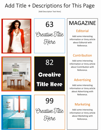 Microsoft Word Magazine Templates Awesome Magazine Template for Microsoft Word Dotxes