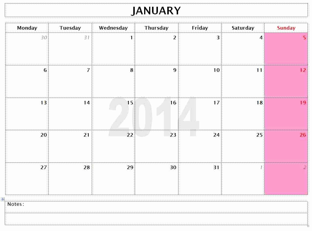 Microsoft Word Weekly Calendar Template New Free Microsoft Word Templates