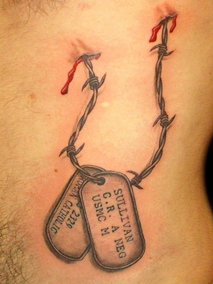 Military Dog Tags Drawing Awesome 25 Best Ideas About Dog Tags Tattoo On Pinterest