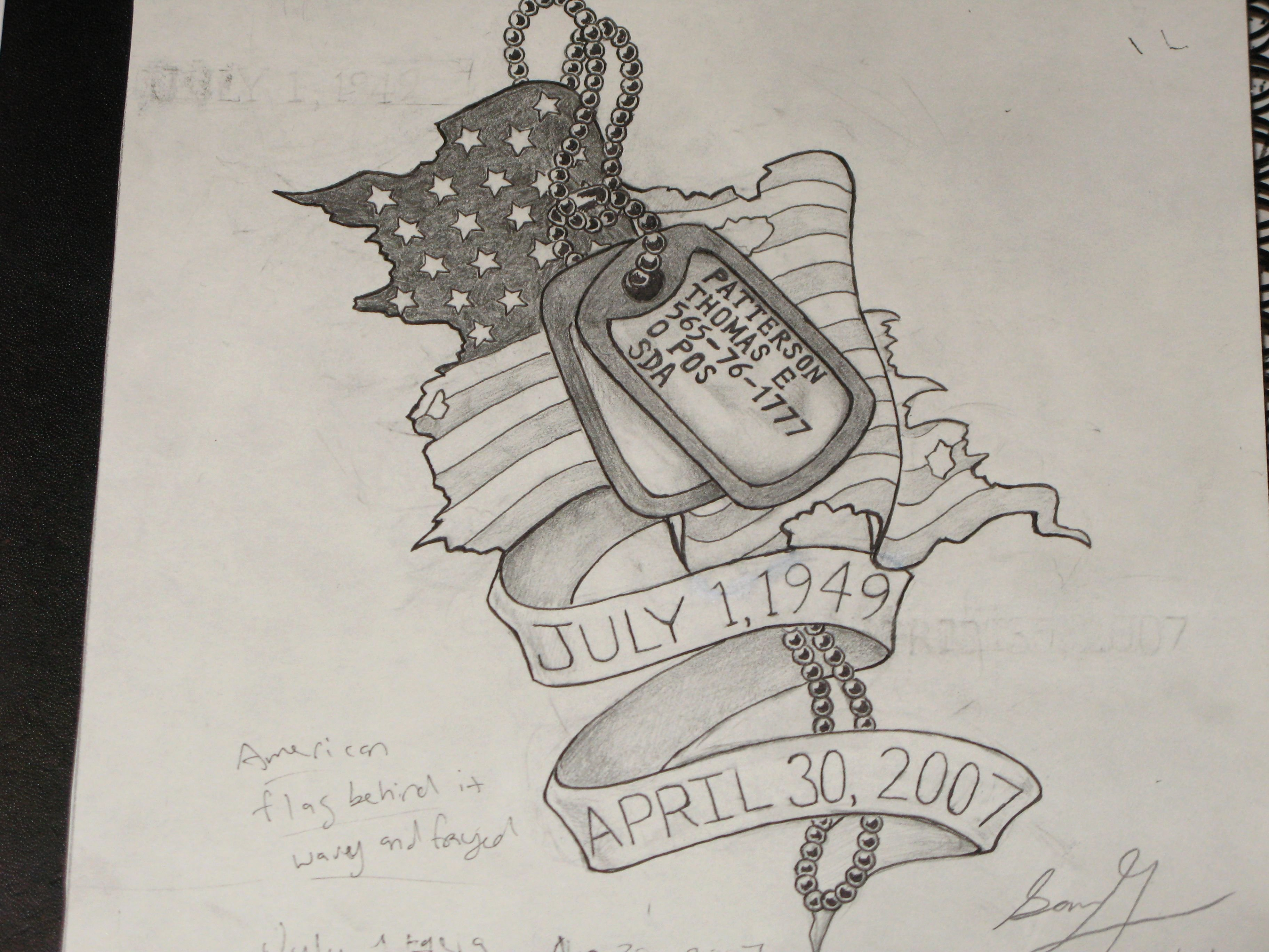 Military Dog Tags Drawings Luxury Dog Tag Tattoos for Women