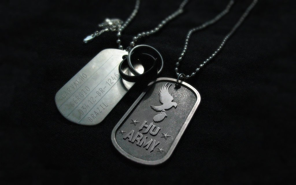 Military Dog Tags Drawings Luxury Hu Army Dog Tags Wallpaper by Sergiooakbr On Deviantart