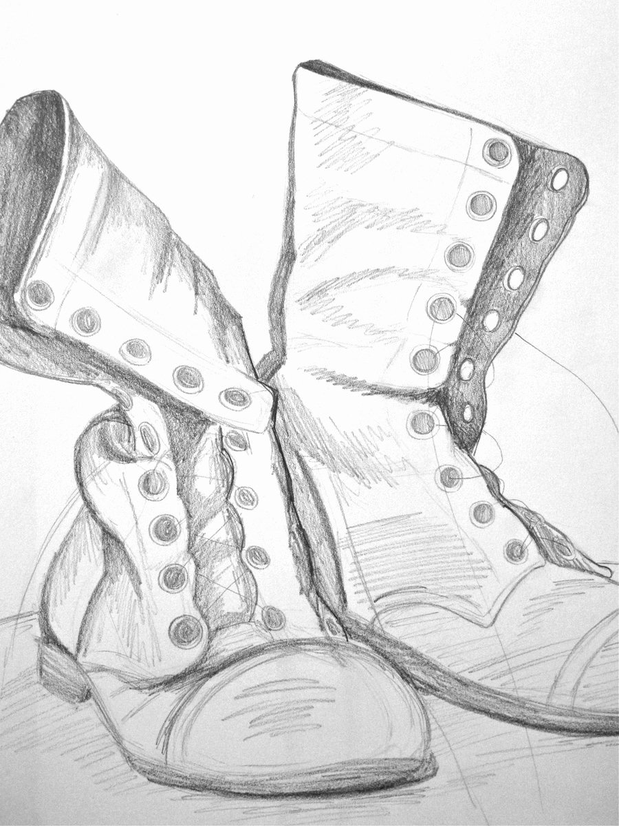 Military Dog Tags Drawings Unique Drawn Boots Army Pencil and In Color Drawn Boots Army