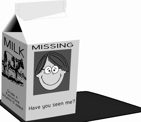Milk Carton Missing Generator Unique Milk Carton Missing Template Invitation Template