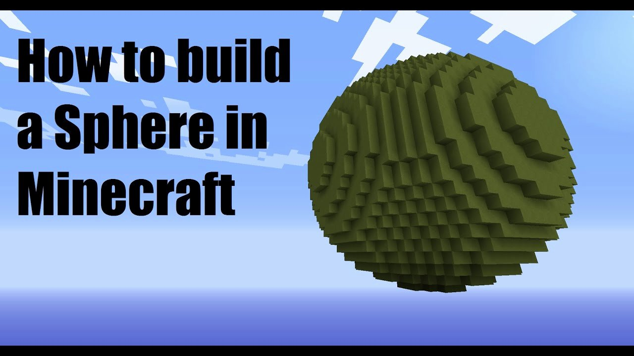 Minecraft Circle Templates Beautiful How to Build A Sphere In Minecraft