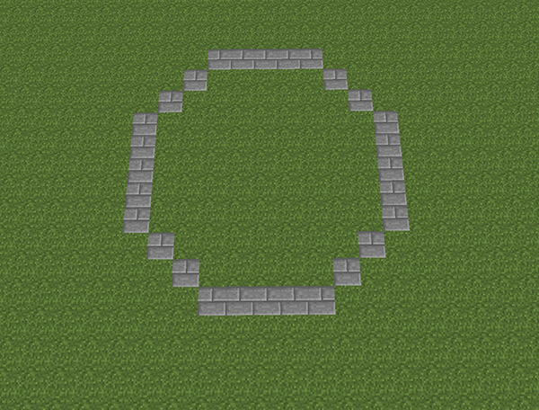 Minecraft Circle Templates Best Of How to Build A Fountain In Minecraft with 12 Easy Steps On
