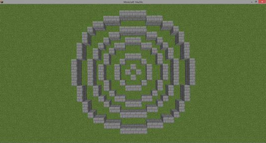 Minecraft Circle Templates Fresh Minecraft Circle Gallery