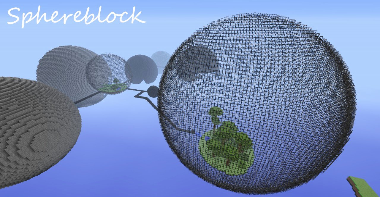 Minecraft Circle Templates Unique Sphere Block Survival V 1 5 Minecraft Project