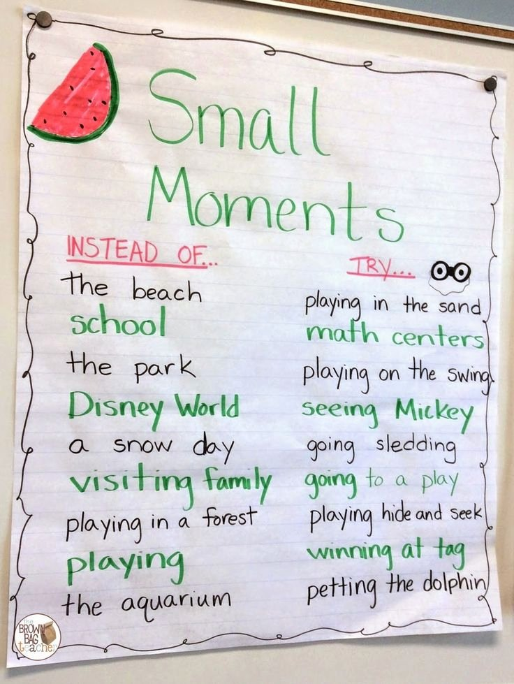 Mini Lesson Template Lucy Calkins Best Of 25 Best Ideas About Small Moments On Pinterest