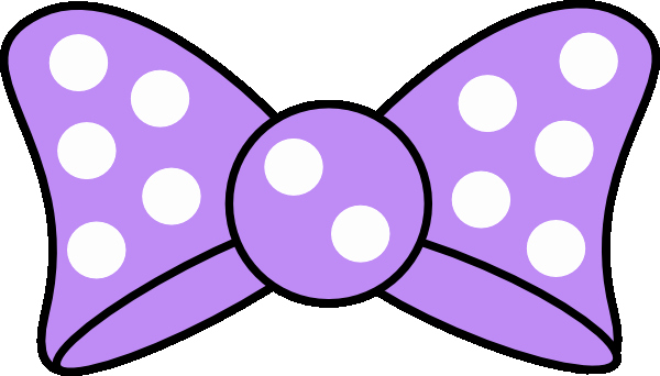 Minnie Mouse Bow Template Printable Elegant Minnie Purple Bow Clip Art Vector Clip Art Online
