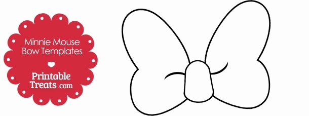 Minnie Mouse Bow Template Printable Fresh Minnie Mouse Bow Template