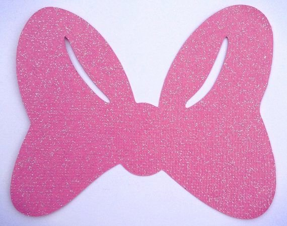 Minnie Mouse Bow Template Printable New Minnie Bow Template