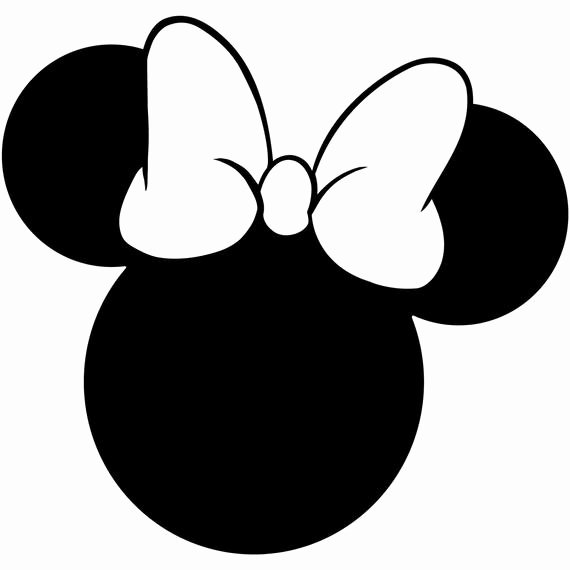 Minnie Mouse Cut Out Head Best Of Minnie Mouse Head Silhouette Walt Disney Disneyland World