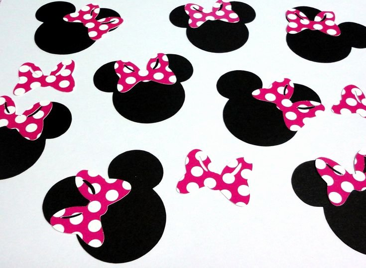 Minnie Mouse Cut Out Head Fresh Minnie Mouse Cut Outs Printable
