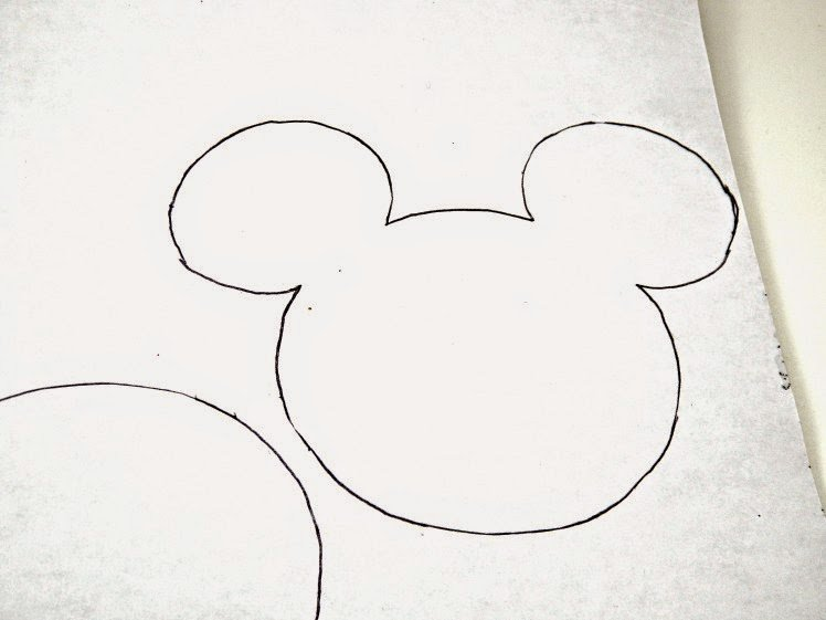 Minnie Mouse Cut Out Template Lovely This Ole Mom Diy Mickey and Minnie Mouse Gift Bags