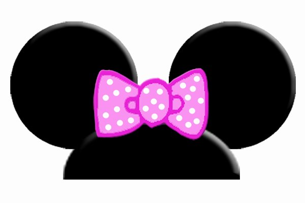 Minnie Mouse Ears Outline Beautiful Free Printable Mickey Mouse Ears Template Download Free