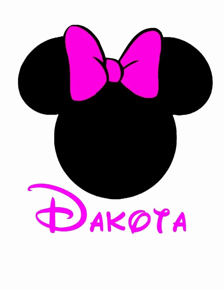 Minnie Mouse Ears Outline Beautiful Minnie Mouse Ear Clip Art