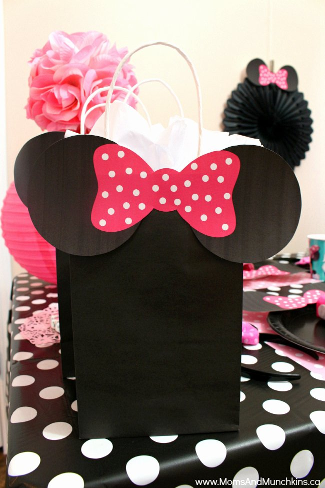 Minnie Mouse Ears Printable Beautiful Minnie Mouse Birthday Party