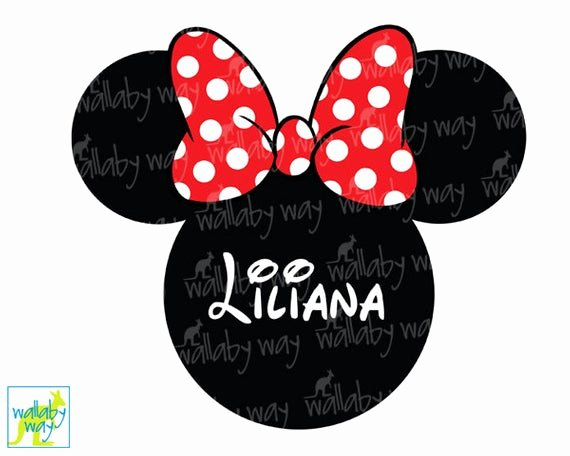 Minnie Mouse Ears Printable Best Of Minnie Mouse Ears Printable Iron Transfer Red Bow Diy