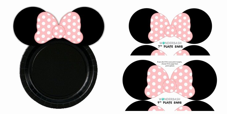 Minnie Mouse Ears Printable Best Of Minnie Mouse Party Guide