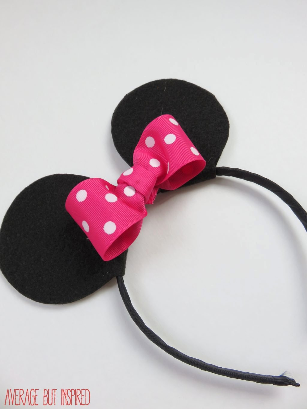 Minnie Mouse Ears Printable Fresh How to Make Your Own Mickey or Minnie Mouse Ears