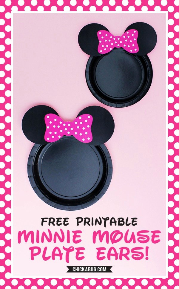 Minnie Mouse Ears Template Printable Beautiful 20 Free Disney Printables Crafts Coloring Creativity