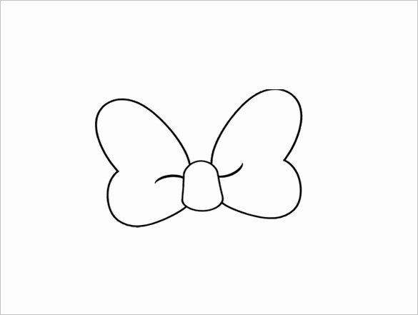 Minnie Mouse Ears Template Printable Inspirational Minnie Mouse Bow Template