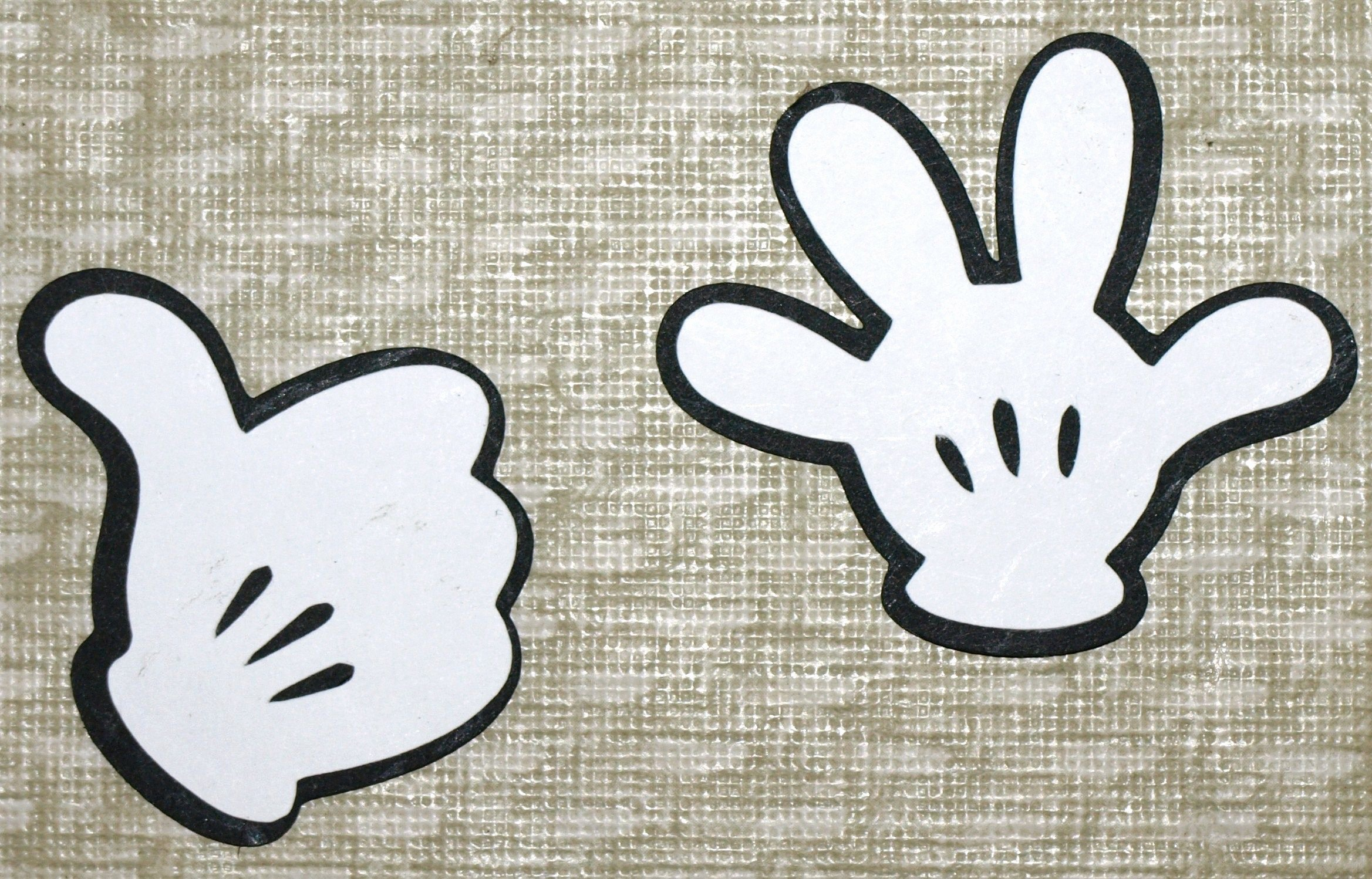 Minnie Mouse Hands Template Lovely Mickey Mouse Hands Clip Art Mickey S Hands