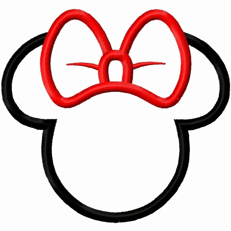 Minnie Mouse Head Silhouette Printable Best Of 1000 Ideas About Mickey Mouse Head On Pinterest
