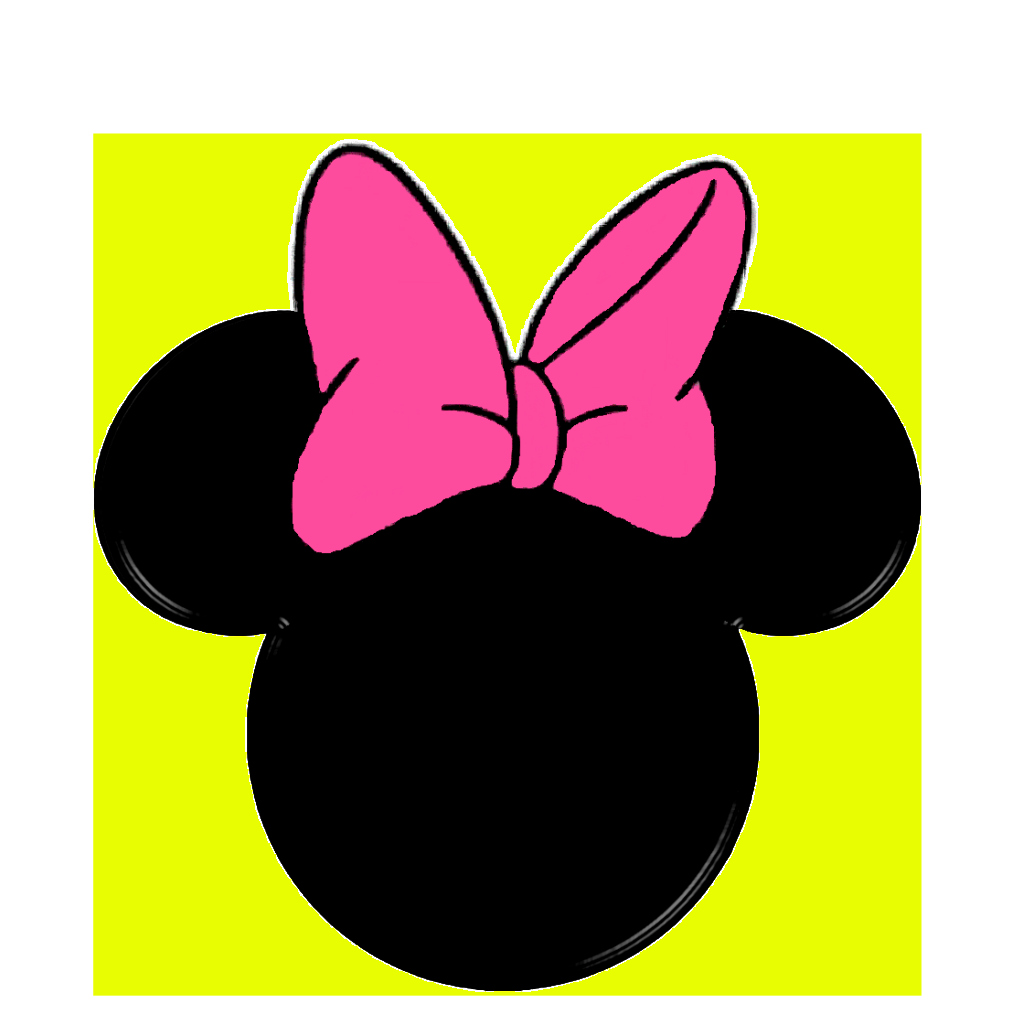 Minnie Mouse Head Silhouette Printable Elegant Minnie Mouse Silhouette Clip Art Cliparts