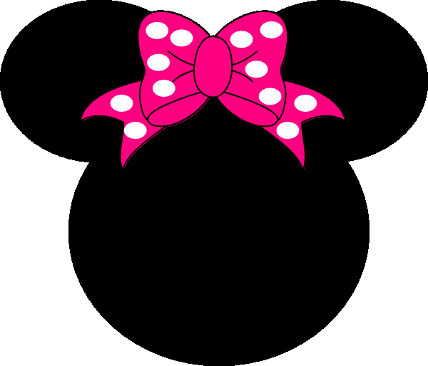Minnie Mouse Head Silhouette Printable Lovely Minnie Mouse Head Outline Cliparts